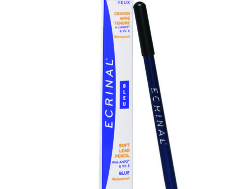 Crayon bleu mine tendre